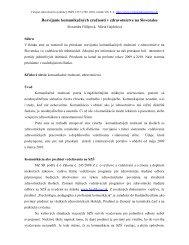 Rozvíjanie komunikačných zručností v zdravotníctve na Slovensku