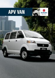 APV VAN - Suzuki