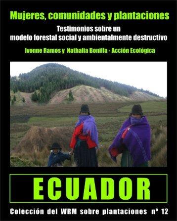 Mujeres, comunidades y plantaciones en Ecuador - Mecanismo de ...