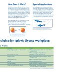 SmartFit Earplug Brochure - Howard Leight - Page 3