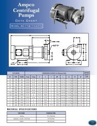 Ampco Centrifugal Pumps - Key Industrial