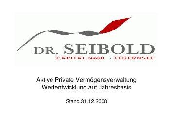 Wertentwicklung - PDF