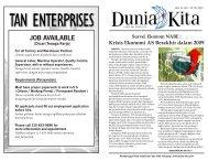 Edisi 189 - 30 Mei 2009 - Dunia Kita