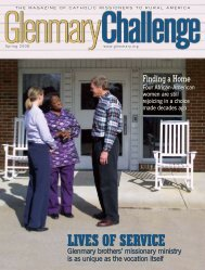 Spring 2008 - Glenmary Challenge
