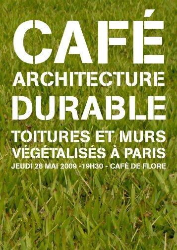 Carton d'invitation - (CAUE75) Paris