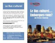 Bus culturel - Prévost
