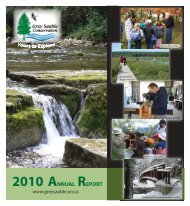 2010 ANNUAL REPORT - Grey Sauble Conservation Authority