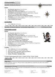 Vertragsvereinbarung Weihnachten 2012 - Richtershorn am See