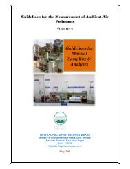 Guidelines for Manual Sampling & Analyses - Central Pollution ...