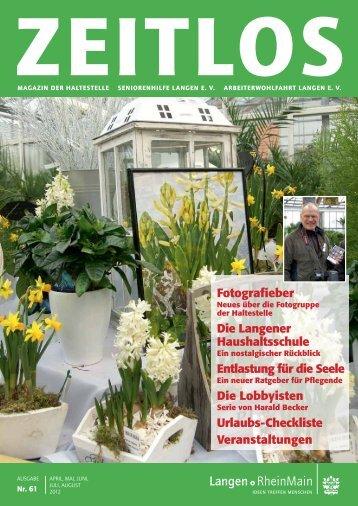Download ZEITLOS Nr. 61 (6 MB) - der Musikschule Langen