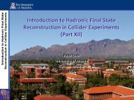 Experimental Elementary Particle Physics Group - University of ...