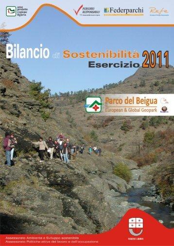 anno 2011 - Parco Naturale Regionale del Beigua