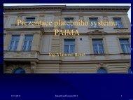 Prezentace platebního systému PAIMA - SmartCard Forum 2011