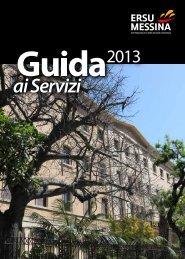 Guida ai servizi 2013 - ERSU Messina