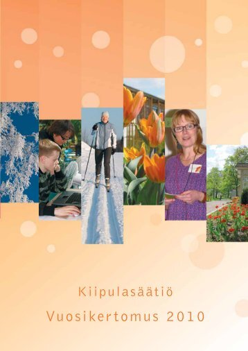 Vuosikertomus 2010 - Kiipula, Kiipulan koulutus