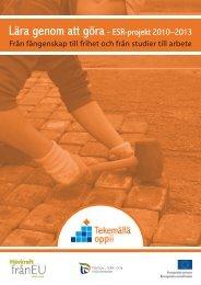 Lära genom att göra- ESR-projekt 2010–2013