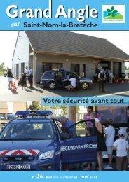 Bulletin municipal n°36 - Saint Nom la Bretèche