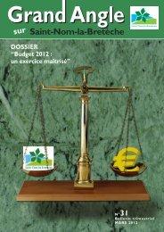 Bulletin municipal n°31 - Saint Nom la Bretèche