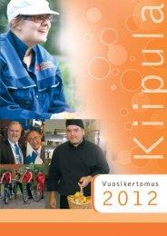 Kiipulasäätiö, vuosikertomus 2012 - Kiipulan ammattiopisto
