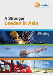 Annual Report 2010 - Leeden Limited