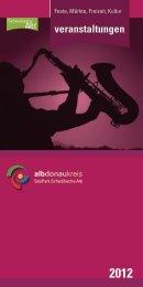 Veranstaltungen 2012 - Alb-Donau-Kreis