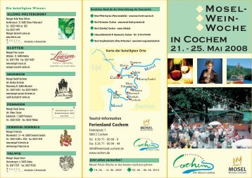 Mosel- Wein- Woche in Cochem 21.