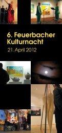 Programm 6. Feuerbacher Kulturnacht 2012