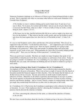 sermon text - Faith Evangelical Free Church