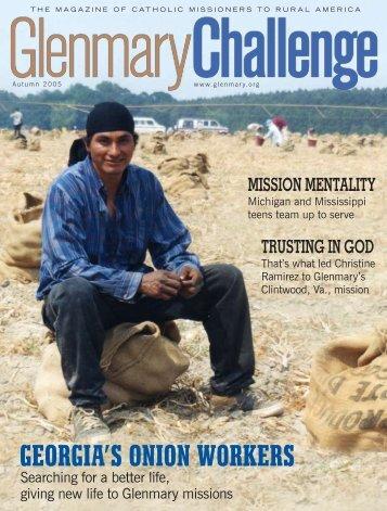 Autumn 2005 - Glenmary Challenge