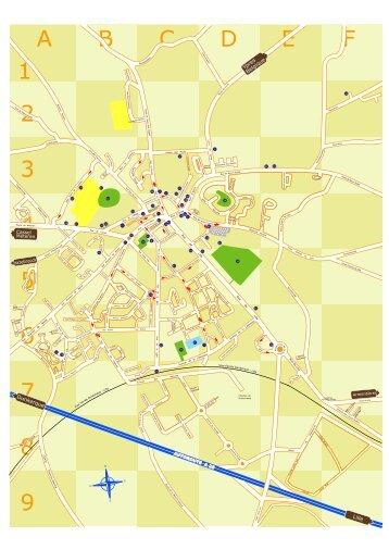 Plan de la ville de Bailleul