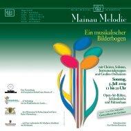 Sonntag, 5. Juli 2009 11 bis 20 Uhr - Kultusportal