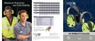 Hi-Visibility Earmuff Brochure - Howard Leight