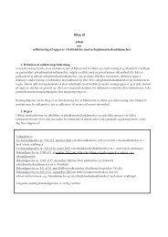 Bilag til aftale om udlicitering af opgaver i ... - Landbo Limfjord
