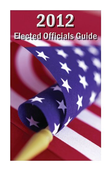 Elected Officials Guide - Jonesboro Chamber of Commerce