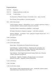 HG konference 2011_def program