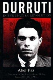 Paz - Durruti in the Spanish Revolution