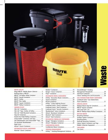 BRUTE® containers - Key Industrial