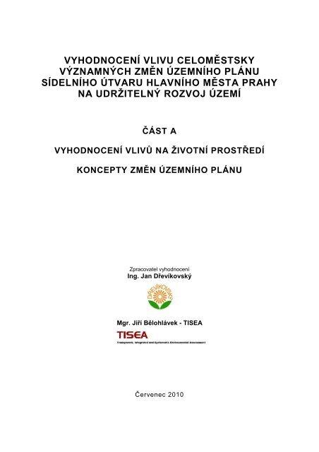 část A - Magistrát hl. m. Prahy