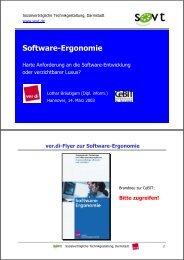 Software-Ergonomie - Ergo-Online