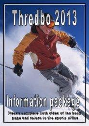 THREDBO 2013 - Masada College