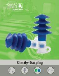 Clarity® Earplug - Howard Leight