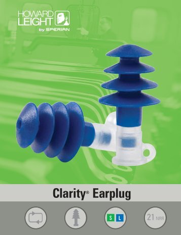 Clarity® Earplug - Howard Leight