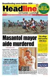 Let us help you! - Headline Gitnang Luzon