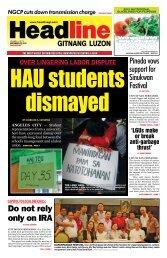 Do not rely only on iRa - Headline Gitnang Luzon
