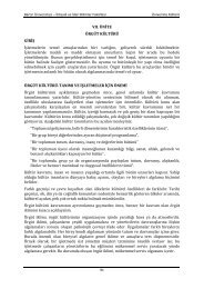 Üniversite Kültürü - İktisadi ve İdari Bilimler Fakültesi - Bartın ...