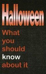Halloween - Christian Light Publications