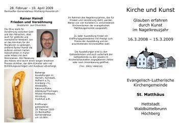 Kirche und Kunst - Evangelisch-Lutherische Kirchengemeinde St ...