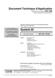 Document Technique d'Application Epsitoit 20 - CSTB