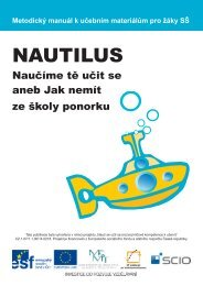 Kompetence k učení v projektu Nautilus - Scio
