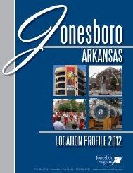 LOCATION PROFILE 2012 - Jonesboro Chamber of Commerce